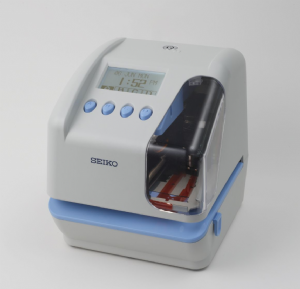 SEIKO TP-50 electronic time and date stamp machine